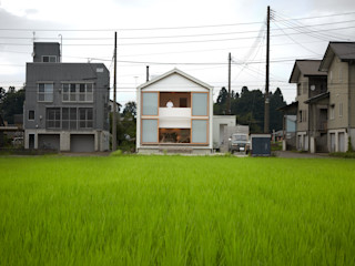 Takeru Shoji Architects.Co.,Ltd Casas de estilo ecléctico