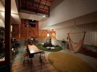 Takeru Shoji Architects.Co.,Ltd Salas de estilo ecléctico