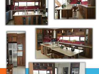 A little of everything SCD Group Kitchen units Solid Wood Brown