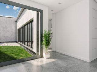 A3D INFOGRAFIA 現代風玄關、走廊與階梯