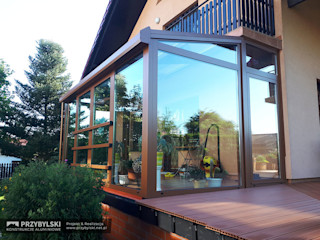 P.W. Przybylski Modern style conservatory Aluminium/Zinc