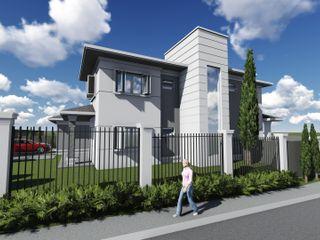 Residência Cláudia Legonde Casas familiares Concreto Branco