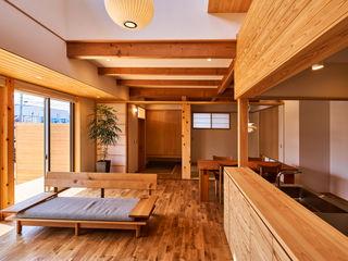 梶浦博昭環境建築設計事務所 Scandinavian style living room