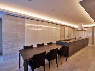 梶浦博昭環境建築設計事務所 Modern kitchen