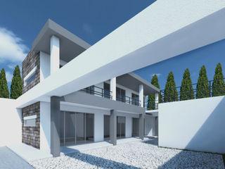 PLAZA SAN ANDRES ODRACIR Balcones y terrazas modernos