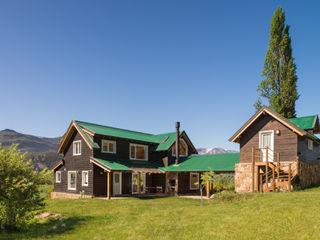 Patagonia Log Homes - Arquitectos - Neuquén บ้านไม้ ไม้จริง Wood effect