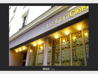 Fence Paris Balconies, verandas & terraces Furniture