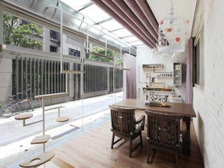 築一國際室內裝修有限公司 Oficinas de estilo moderno