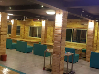 Bodhivraksh Design Studio ComedoresSillas y banquetas Bambú Azul