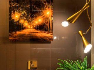 Banheiro do Hóspede - CASACOR Ribeirão Preto Camarina Studio Banheiros modernos