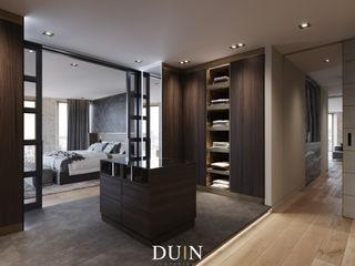 DUIN INTERIOR Modern Dressing Room Copper/Bronze/Brass Brown