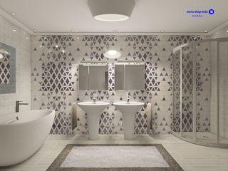 'Design studio S-8' Casas de banho minimalistas