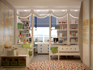 Студия интерьерного дизайна happy.design Nursery/kid's room
