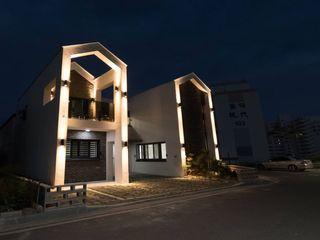 GN건축사사무소 獨棟房 強化水泥 White