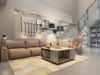 打造專屬於你的19度C 微工業風 木博士團隊/動念室內設計制作 客廳 鐵/鋼 Orange