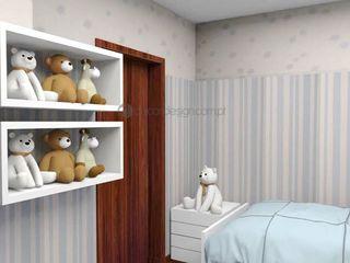 Decordesign Interiores Дитяча кімнатаЛіжка та дитячі ліжечка Дерево Білий