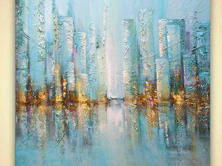 OSNAT FINE ART ArteCuadros y pinturas Azul