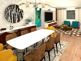 SPAZIUM ARQUITECTURA INTERIOR Modern houses