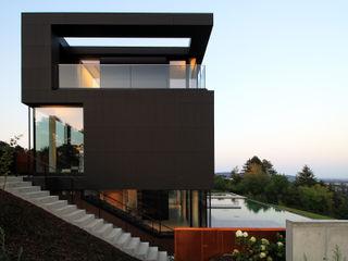 Wide Screen Architekt Zoran Bodrozic Minimalistische Häuser Metall