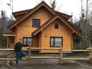 Patagonia Log Homes - Arquitectos - Neuquén บ้านไม้ ไม้ Wood effect