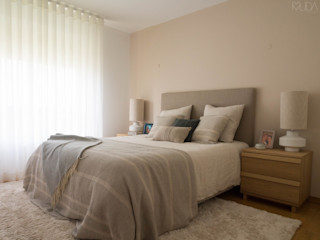MUDA Home Design Scandinavian style bedroom