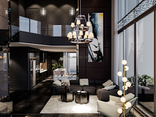 ICON INTERIOR Salas de estilo asiático