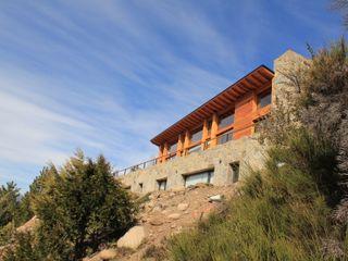 Valle del Caleufu Aguirre Arquitectura Patagonica Balcones y terrazasDecoración y accesorios