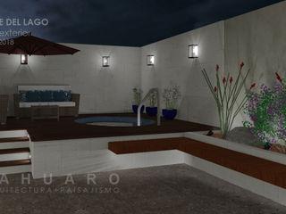 SAHUARO Arquitectura + Paisajismo Piscinas de jardim