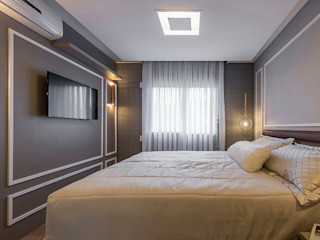 Espaço do Traço arquitetura Modern Bedroom