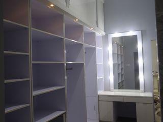 luxe interior Vestidores y closetsArmarios y cómodas Contrachapado Blanco
