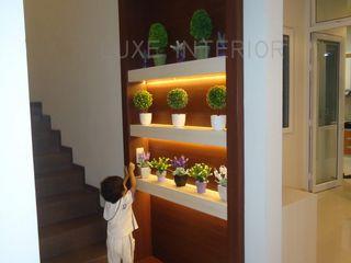 luxe interior Vestíbulos, pasillos y escalerasAccesorios y decoración Contrachapado Multicolor