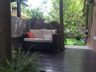 LI A'ALAF ARCHITECT 모던스타일 정원