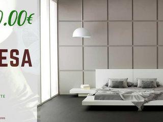 Decordesign Interiores СпальняЛіжка та спинки Дерево Білий