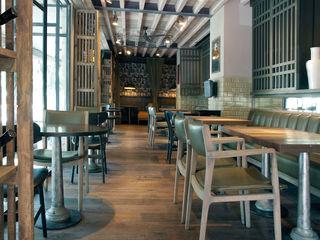 Global Woods Aziatische gastronomie Hout Amber / Goud