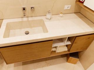 CusenzaMarmi Modern bathroom سنگ مرمر Beige