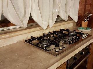 CusenzaMarmi Kitchen پتھر Beige