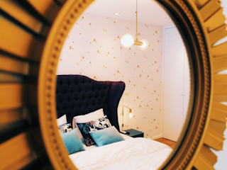 YS PROJECT DESIGN SchlafzimmerAccessoires und Dekoration Textil Bernstein/Gold