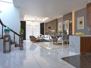 Nội Thất An Lộc Modern corridor, hallway & stairs