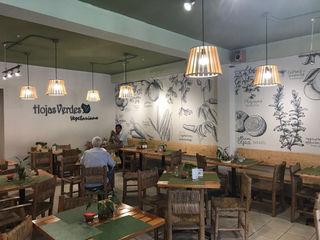 Hojas Verdes Resturante Vegetariano Taller La Semilla Gastronomía de estilo ecléctico Madera Verde