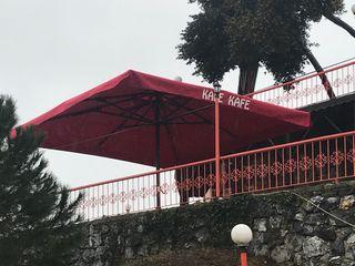 Akaydın şemsiye 露臺 鋁箔/鋅 Red