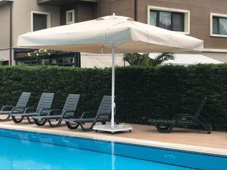 Akaydın şemsiye 庭院泳池 鋁箔/鋅 White