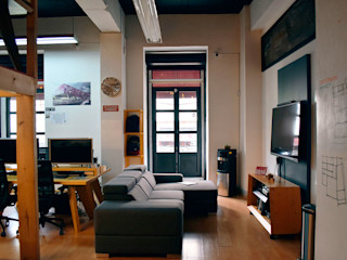 All Arquitectura Modern Study Room and Home Office