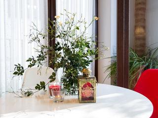 Home & Haus   Home Staging & Fotografía غرفة السفرة Red