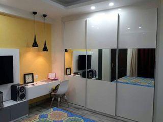 M.U Interiors Asian style bedroom