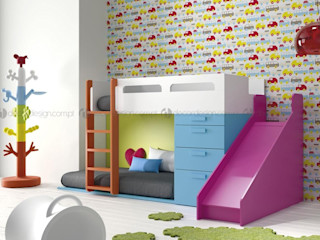 Decordesign Interiores Дитяча кімнатаЛіжка та дитячі ліжечка