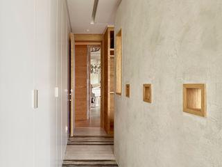Grayscale 形構設計 Morpho-Design 現代風玄關、走廊與階梯