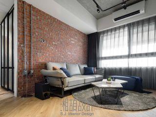 湘頡設計 Living room Bricks Red