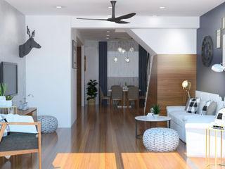Scandinavian Interior Renovation at Singapore Apartments Space Studio Living roomAccessories & decoration