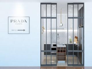 Scandinavian Interior Renovation at Singapore Apartments Space Studio KitchenAccessories & textiles