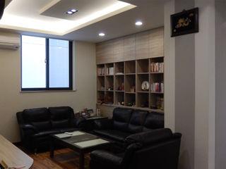 四十五年壁癌老屋變身日式人文宅 木博士團隊/動念室內設計制作 客廳